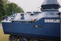 YPR-765 Koninklijke Marechaussee NL, Vliegbasis Twenthe (NL), 20. Juni 2003