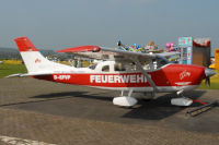 Cessna 206H, D-EFVP, Landesfeuerwehrverband Niedersachsen e.V., Flugplatz Bohmte, 01. Mai 2016