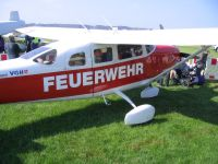 Cessna 206H, D-EFVP, Landesfeuerwehrverband Niedersachsen e.V., Flugplatz Bohmte, 01. Mai 2013