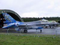 F-16AM, Belgische Luftkomponente, Flugplatz Wittmund, 29. Juni 2013