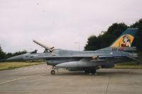F-16, Niederländische Luftwaffe, Vliegbasis Leeuwarden, Niederlande, 4. Juli 1998
