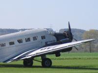 Ju 52, Deutsche Lufthansa Stiftung, Flugplatz Bohmte, 01. Mai 2013