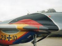 MiG-29, 29+10, Jagdgeschwader 73, 24. August 2003, Flugplatz Eggebek