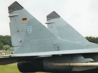 MiG-29, 29+21, Jagdgeschwader 73, 6. Juli 2002, Vliebasis Gilze-Rijen, Niederlande
