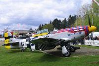 P-51D, Flugplatz Bohmte - Bad Essen, 01. Mai 2015