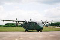 Shorts SC-7 Skyvan SRS 3M, Bundesheer Fliegerdivision, Fliegerregiment 1 , Fliegertruppe, Vliegbasis Twenthe, Niederlande 20. Juni 2003